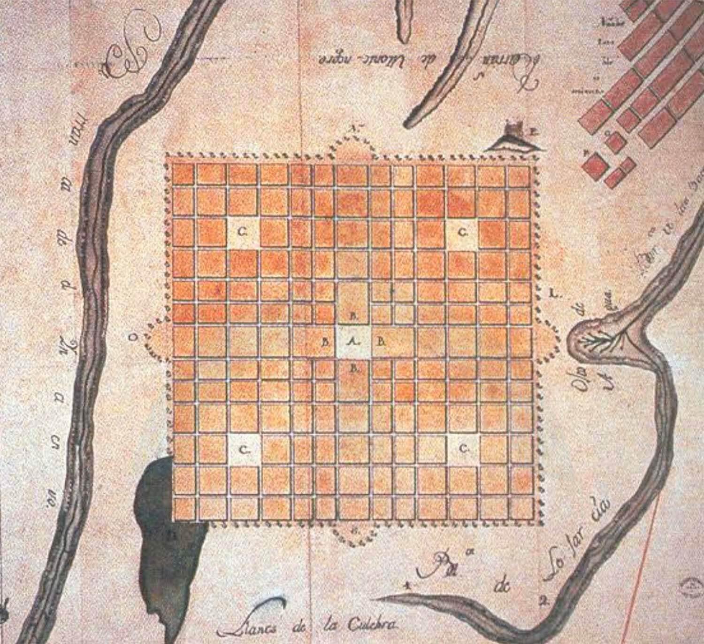 Plano 1776 -luis diez de navarro
