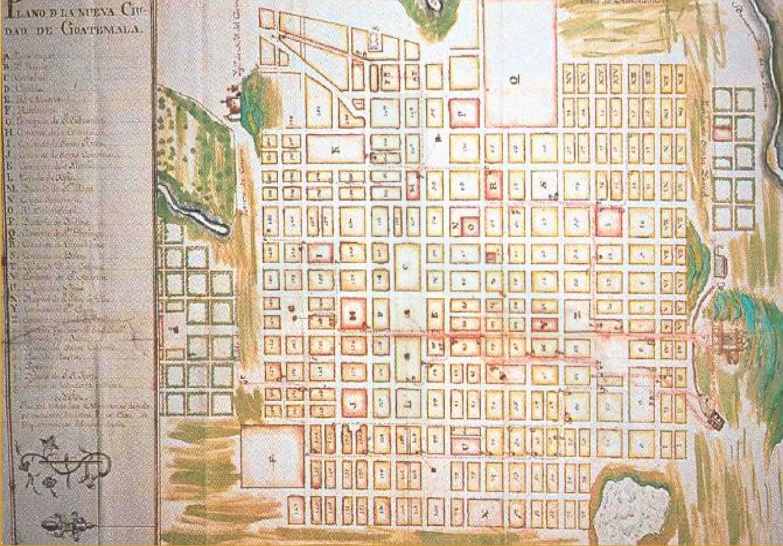 Plano 1782 -felix de consuegra-